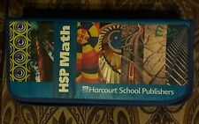 HSP Harcourt Math Student Manipulative Kit Grade 5-6  9780153669064