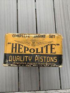 HEPOLITE PISTONS  ~  Singer Super 10  ~  63 mm + 020 ~ 1956