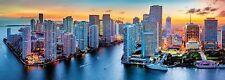 Puzzle 1000 Parts - Miami Pendant la nuit (panorama) de Trefl