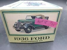 AMT C8 1936 FORD COUPE VINTAGE 1/25 MODEL CAR MOUNTAIN
