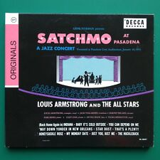 Louis Armstrong SATCHMO AT PASADENA Jazz Concert CD [Rare Verve] Velma Middleton