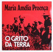 MARIA AMELIA PROENCA O grito da terra fado portugal mundo novo MNEP 001 EP