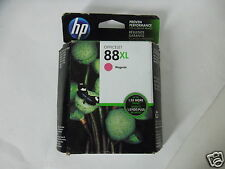 HP 88XL Magenta Inkjet Cartridge 1980-Pages K550 K550dtn L7700 K8600 C9392AN NEW