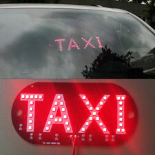 Red DC 12V 45 LED Car Taxi Cab Roof Light Vehicle Sign Inside Windscreen Lamp