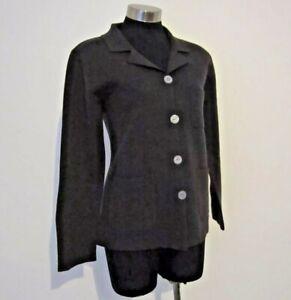 Witchery Brown Wool Cardigan Jacket Size S 10