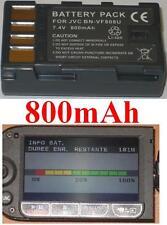 Batería 800mAh tipo BN-VF808 BN-VF808U Para JVC GZ-HD40EK