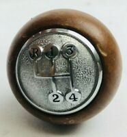 Vintage Cone Wooden//Woody 4-Speed Shift Knob FAST SHIPPING Reverse Top Left