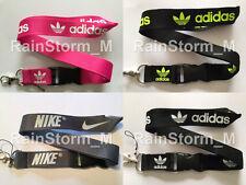 Sports Brand Lanyard NEW UK Seller Black Pink Green White