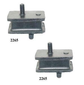 2PCS FRONT LEFT & RIGHT MOTOR MOUNT FOR 1978 DODGE D200 3.7L 4.0L 5.2L 5.9L 6.6L