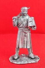 Handmade Tin metal collection toy figurine 54mm Knight Crusader 1099 year