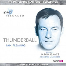 THUNDERBALL - IAN FLEMING - 8 CD AUDIO BOOK - NEW - JAMES BOND
