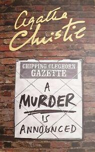 A Murder Is Announced ' Christie, Agatha