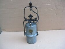 Ancienne lampe de mineur acétylène marquage LA FRANCAISE .