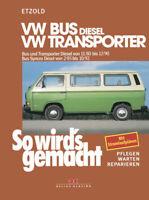 Reparaturanleitung VW Bus T3 Diesel Transporter Syncro Werkstatthandbuch Wartung