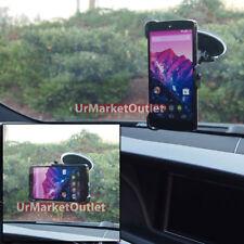 Windscreen Windshield Car Mount Mobile Phone Holder Short Fit LG Google Nexus 5