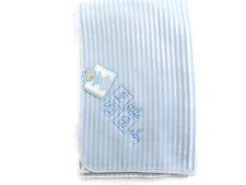 Snuggle Baby Striped Baby Wrap (Blue) 75 x100 cm