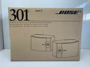 Bose 301 Series V Direct Reflecting Speakers New in Original Box