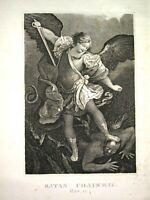 1820 HOLY BIBLE Illustrated MASSIVE FOLIO Engravings JOHN BROWN Antique AMERICAN
