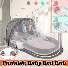 Foldable Baby Infant Mosquito Net Tent Mattress Bed Cover Travel Portable