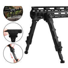 """Tactical M-LOK Center Height 6-8"""" Rifle Bipod Adjustable Lightweight f/Gun D8H4C"""