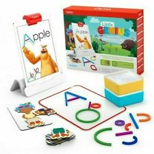 Osmo - Little Genius Starter Kit for iPad - 4 Hands-On Learning Games - NEW