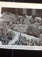 72-1 Ephemera 1963 Picture St Paul's Cathedral Coro Lilion Italy Folk Songs