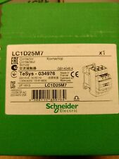 LC1D25M7 Contactor 25A 3 poles AC3 1NA+1NC 220Vca LC1-D25M7 NEW IN BOX Original