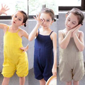 Top Baby Kids Boy Girl Infant Romper Jumpsuit Bodysuit Cotton Clothes Outfit Set