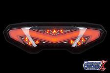 Clear LED Integrated Brake Tail Light Taillight for Yamaha FZ09 FZ 09 FZ-09 2016
