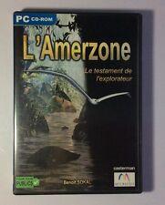 Jeu PC L'Amerzone Le Testament De L'Explorateur