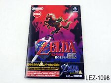 Zelda Ocarina of Time + Master Quest Japanese Import NGC Nintendo Gamecube GC B