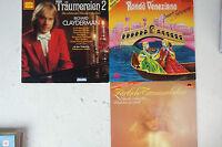 3 LP Richard Clayderman Rondo Veneziano Zärtliche Traummelodien  (LP23)