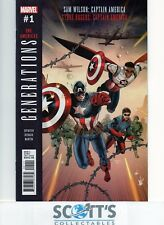 GENERATIONS CAPTAIN AMERICAS  #1  NEW  (BAGGED & BOARDED)