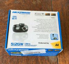 Nextbase 512GW Full 1440p HD en el coche Dash Cámara DVR 140 ° ángulo de visión Wifi Y Gps