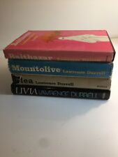 Lawrence Durrell Clea Mountolive Balthazar and Livia HC DJs 1959 to 1979