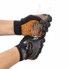 Vgo 1pair Anti Cut Deer Split Leather Work Glovesmechanic Glovesdb9702hy