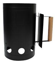 Large Barbecue Chimney Starter Quick Start BBQ Grill Charcoal Burner Lighter