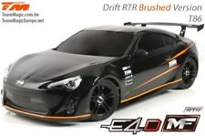 Team Magic e4d-mf - t86 competencia brushed Drift chasis rtr-tm503017-t86