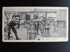 No.11 MAXIM GUN DRILL R.N. - Modern War Weapons by Ogdens Ltd 1915