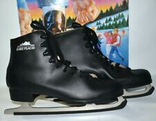 New listing Men's Ice Skates Lake Placid Size 13 leather lining nickel plated blades
