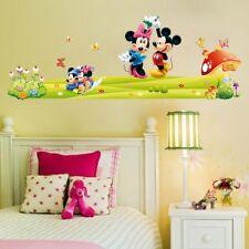 Wallpaper Cartoon Disney Mickey Mouse Wall Sticker for Kids Room Decal Vinyl