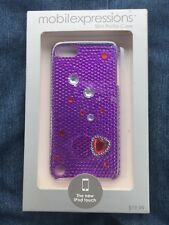 Mobilexpressions Slim Profile Purple 5th/6th Gen Apple iPod Bling/Jewel Case
