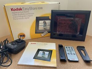 "🔥 TESTED! KODAK EasyShare S510 Digital 5.6"" Photo Frame w/Remote & Orig Box"