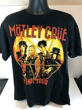 Motley Crue Concert Shirt Farewell Size Large M30