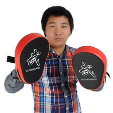 2X Boxing Mitt MMA Focus Punch Pad Training Glove Karate Muay Thai New