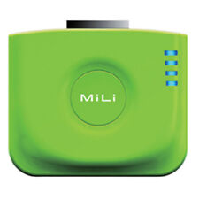 NEW MiLi Green Power Angel External Bank Battery w Stand for Apple iPhone 4 4S