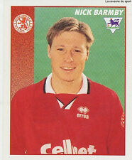 N°320 NICK BARMBY MIDDLESBROUGH STICKER MERLIN PREMIER LEAGUE 1997