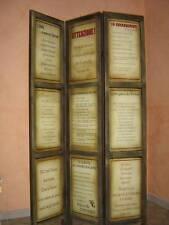 Paravento separe' detti  e Proverbi  italiani  antichi e moderni
