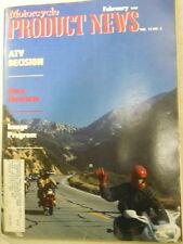 Motorcycle Product News, Feb 1988, ATV Decision, Image Program,   Blue box 2