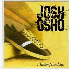 (ED525) Josh Osho, Redemption Days - 2012 DJ CD
